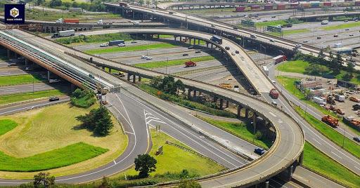 Hình ảnh minh họa khu đất có cầu đi qua