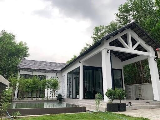 Hình ảnh căn nhà vườn 1 tầng của Phú Quý.