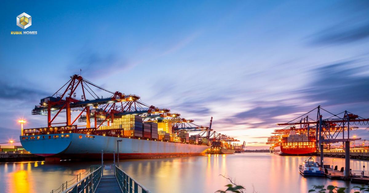 Cụm cảng biển nước sâu Thị Vải - Cái Mép tại thị xã Phú Mỹ