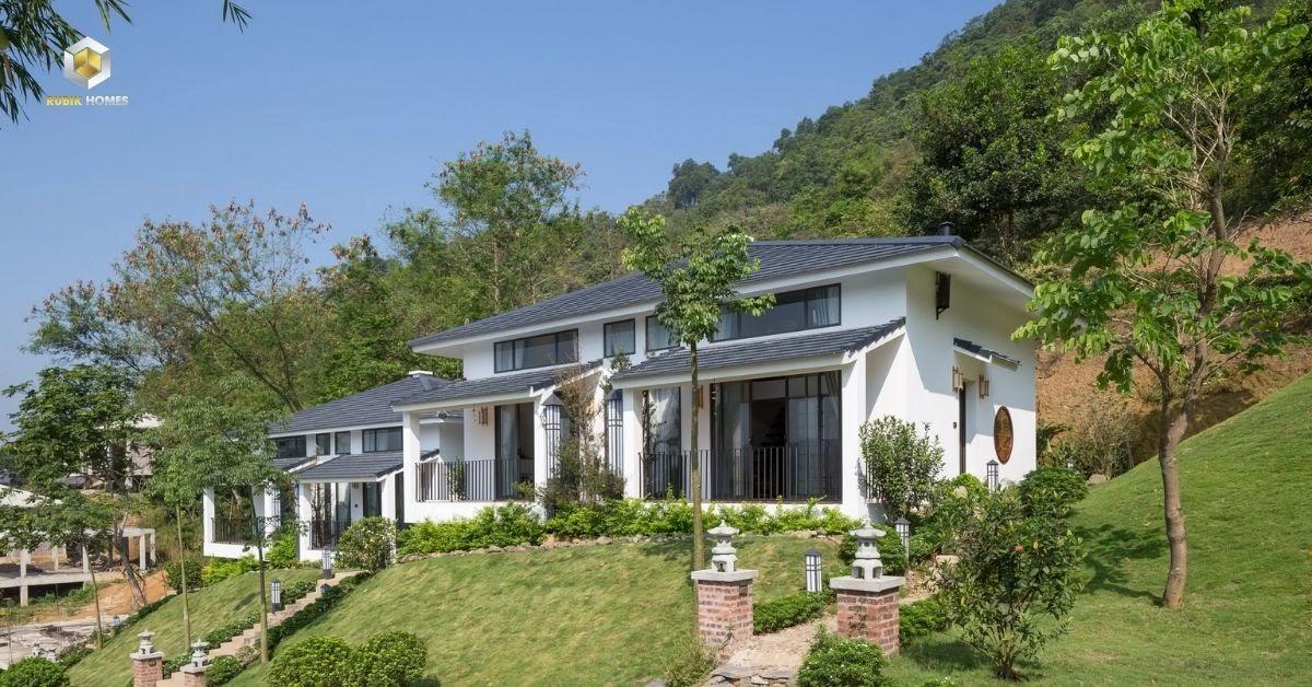 Một dự án bất động sản nghỉ dưỡng đang được xây dựng tại Lâm Đồng