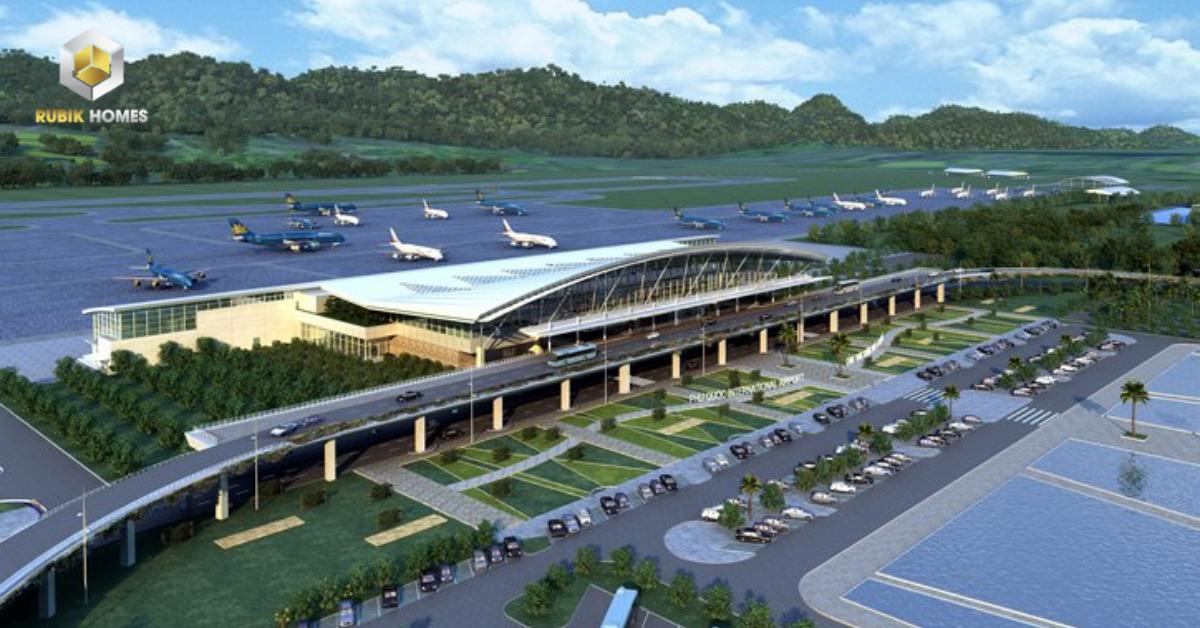 Hình phối cảnh sân bay Phan Thiết