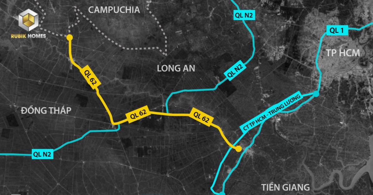 Nâng cấp lại tuyến đường QL 1