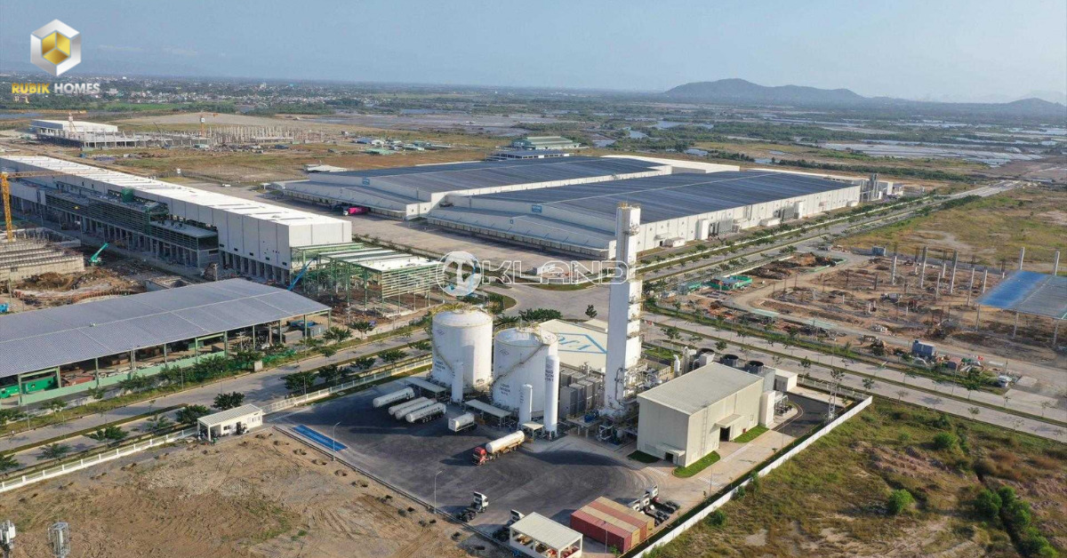 Khu công nghiệp tại Phú Mỹ