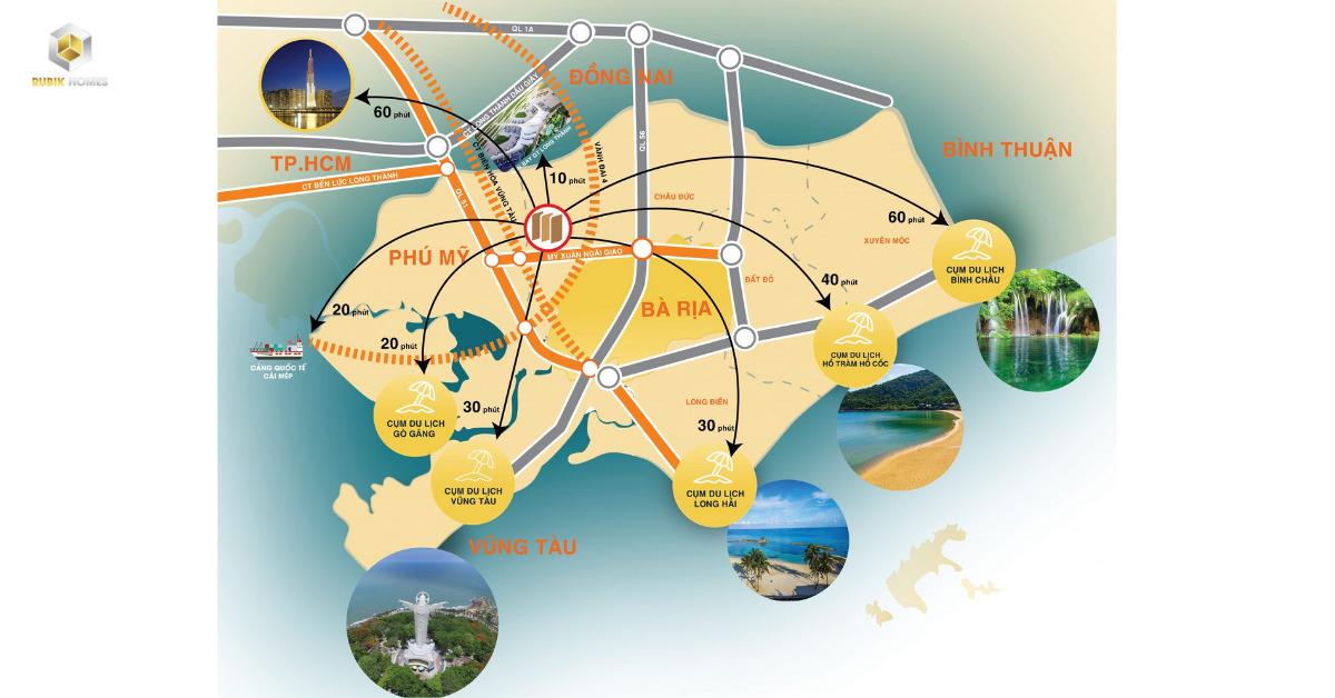 Vị trí đặc địa, kết nối giao thông liên vùng
