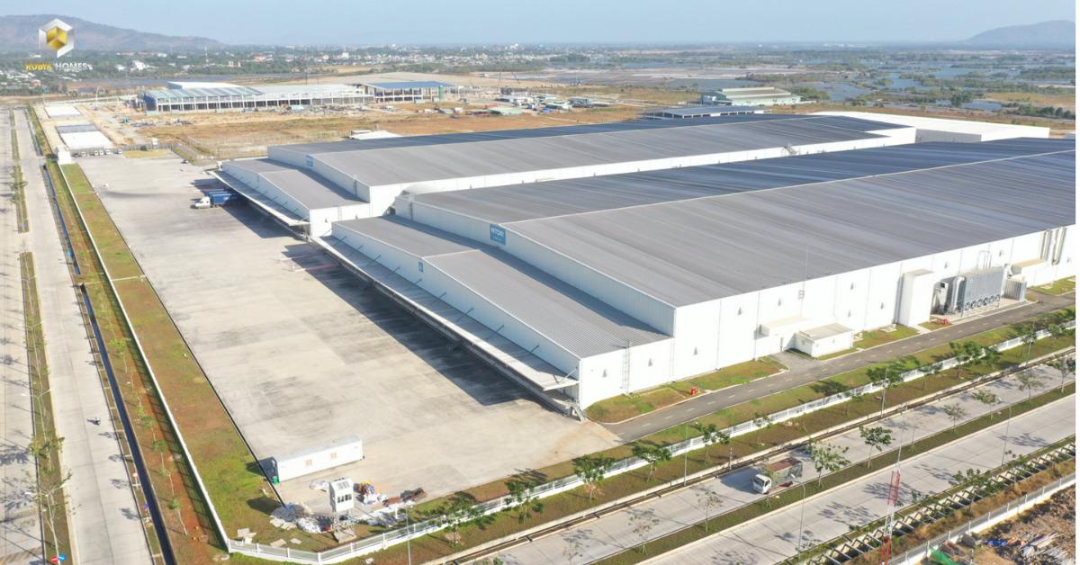 Một nhà máy trong KCN tại Phú Mỹ